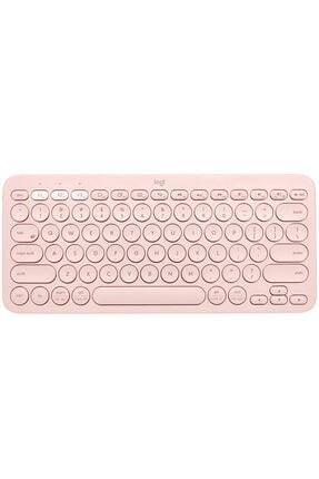 logitech K380 Multi-device Bluetooth(R) Türkçe Q Klavye-gül 920-010067
