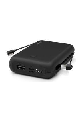 Ttec Recharger Duo+ Iphone Lightning Dahili Kablolu Taşınabilir Şarj Aleti / Powerbank Siyah 10.000mah
