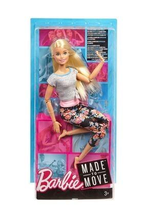 Barbie Sonsuz Hareket Sarışın Gri Tshirt Ftg80-ftg81