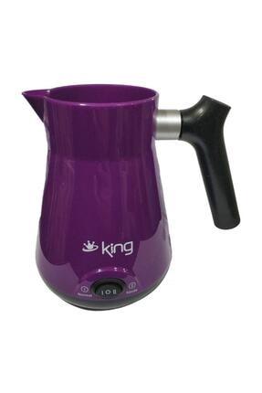 King K 446 Keyifli Elektrikli Kahve Makinesi Közde Kahve Özellikli Mor