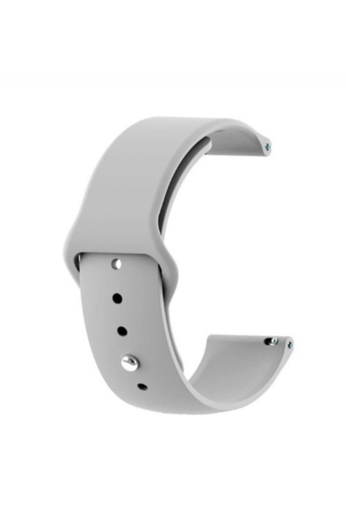 Ekoodukkan Huawei Gt 2 - Honor Magic Watch 2 Uyumlu  46mm Akıllı Saat Düz Silikon Kordon 1