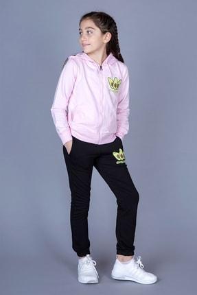 Toontoy Kız Çocuk Avokado Baskılı Takım