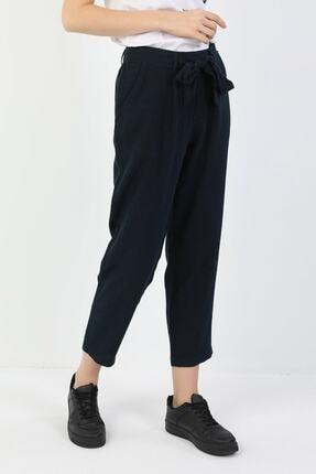 Colin's Regular Fit Orta Bel Düz Paça Kadın Lacivert Pantolon
