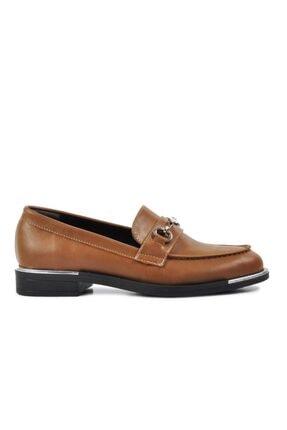 Pierre Cardin Kadın Vizon Düz Loafer Ayakkabı 50678