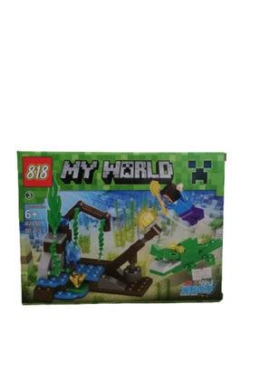 MINECRAFT Yeni Seri 90 Parça Lego Seti % 100 Kalite