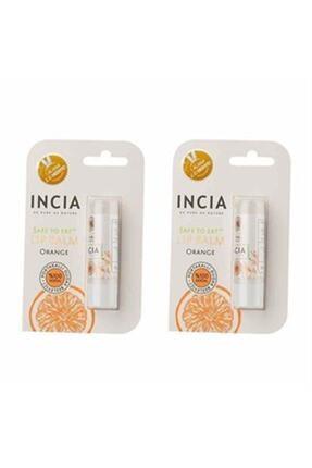 Incia Incıa Doğal Portakallı Dudak Besleyici 6 Gr Bir Alana Bir Hediye