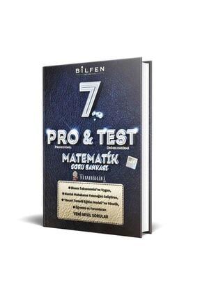 Bilfen Yayıncılık Bilfen Yayınları 7. Sınıf Pro Test Matematik Soru Bankası