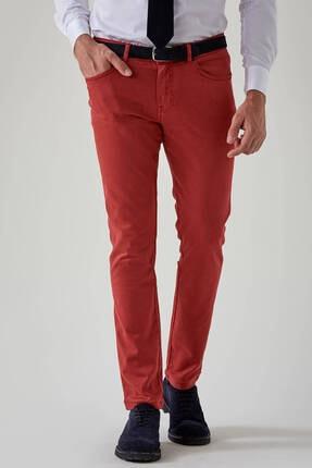 Hemington Erkek Kırmızı Slim Fit 5 Cep Pantolon