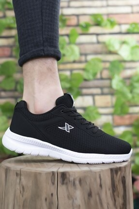 Riccon Siyah Beyaz Unisex Sneaker 0012065