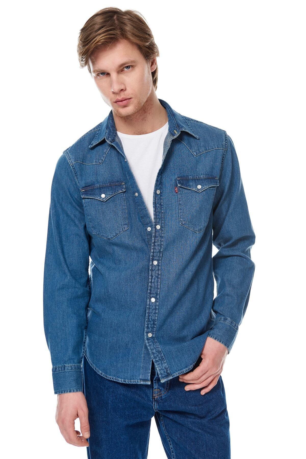 Levi's Erkek Classic Western Sweatshirt 85745-0001 1