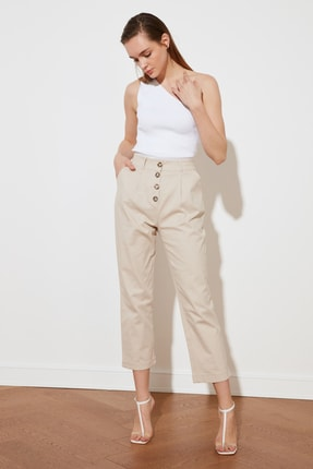 TRENDYOLMİLLA Taş Bol Pantolon TWOSS20PL0015