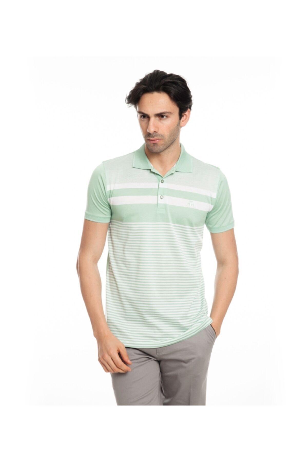 Karaca Erkek Fıstık Slim Fit T-shirt 1