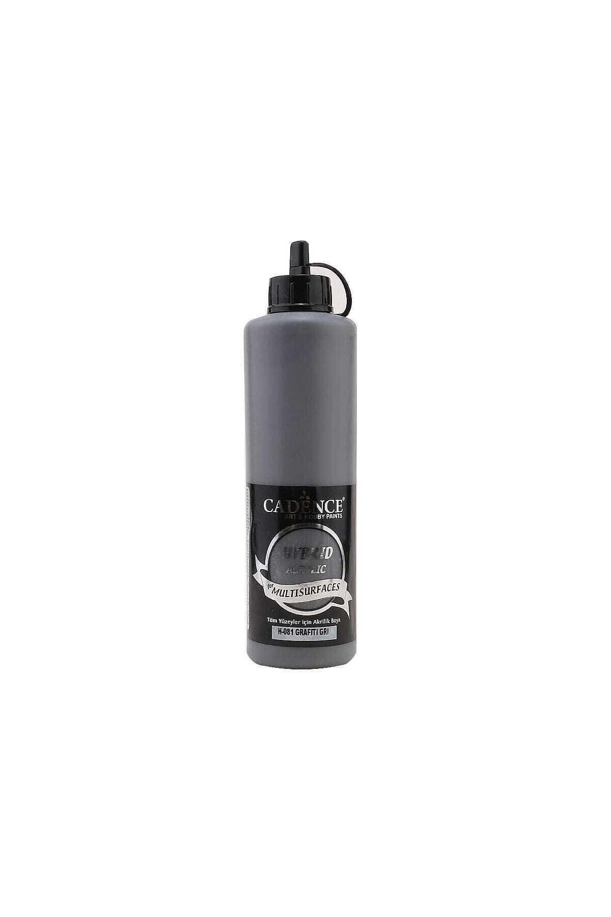 Cadence Hybrid Multisurface Akrilik Boya 500 ml. H-081 Grafiti Gri 1