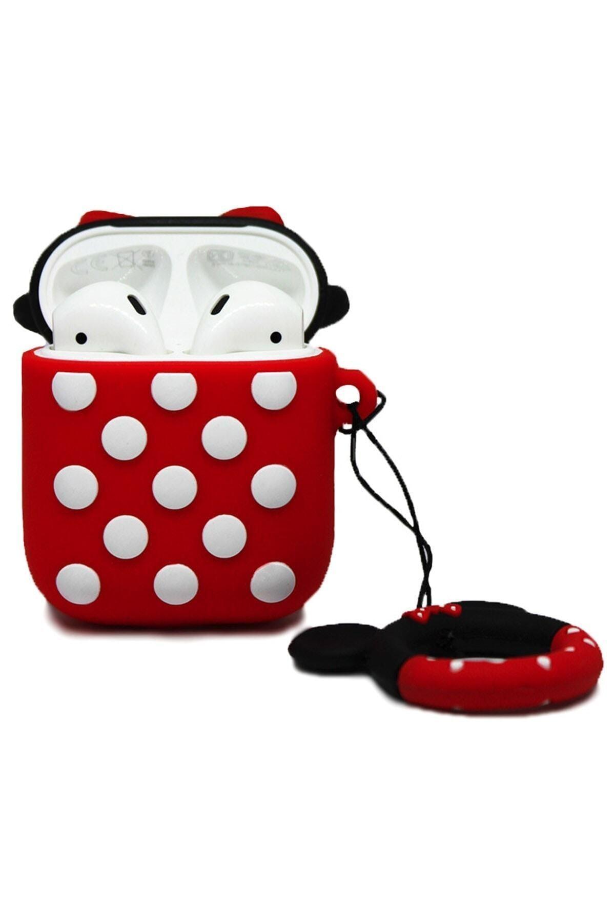 Miyosa Airpods 1 2 Uyumlu Minnie Mouse Kılıfı 2