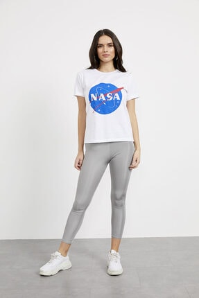Arma Life Nasa Baskı T-shirt