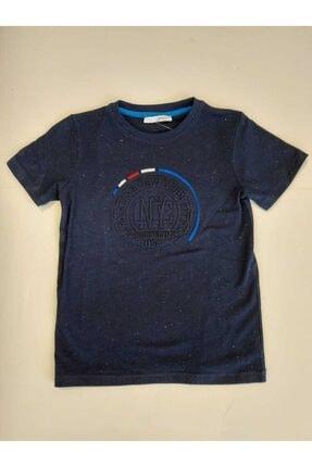 NK Erkek Çocuk Lacivert Gofret Tshirt