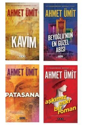Yapı Kredi Yayınları Ahmet Ümit Seçkisi 4'lü Kitap- Patasana- Kavim-beyoğlu'nun En Güzel Abisi-aşkımız Eski Bir Roman