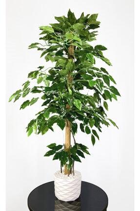 BİÇİÇEK Yapay Benjamin Ağacı 110cm Sarmaşık Detaylı