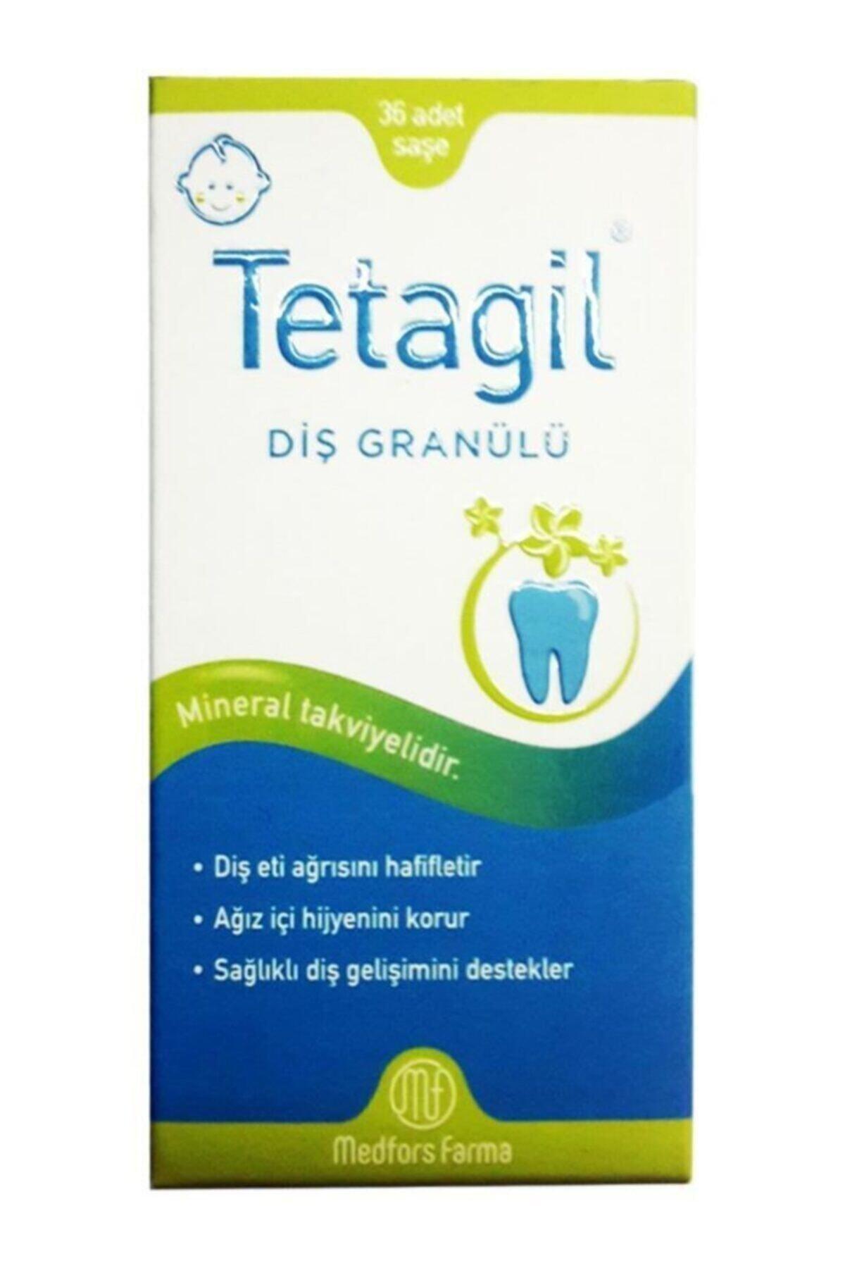 Medfors Farma Tetagil Diş Granülü 36 Saşe 1