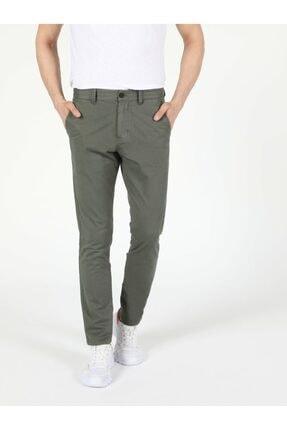 Colin's Slim Fit Orta Bel Düz Paça Erkek Yeşil Pantolon