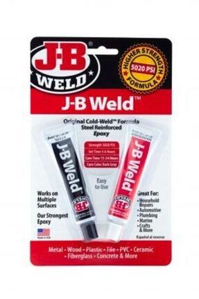 JB Weld Adhesive Weld - Çiftli Epoksi Yapıştırıcı ve Tamir Macunu Metal Dolgulu Endüstriyel Yapıştırıcı
