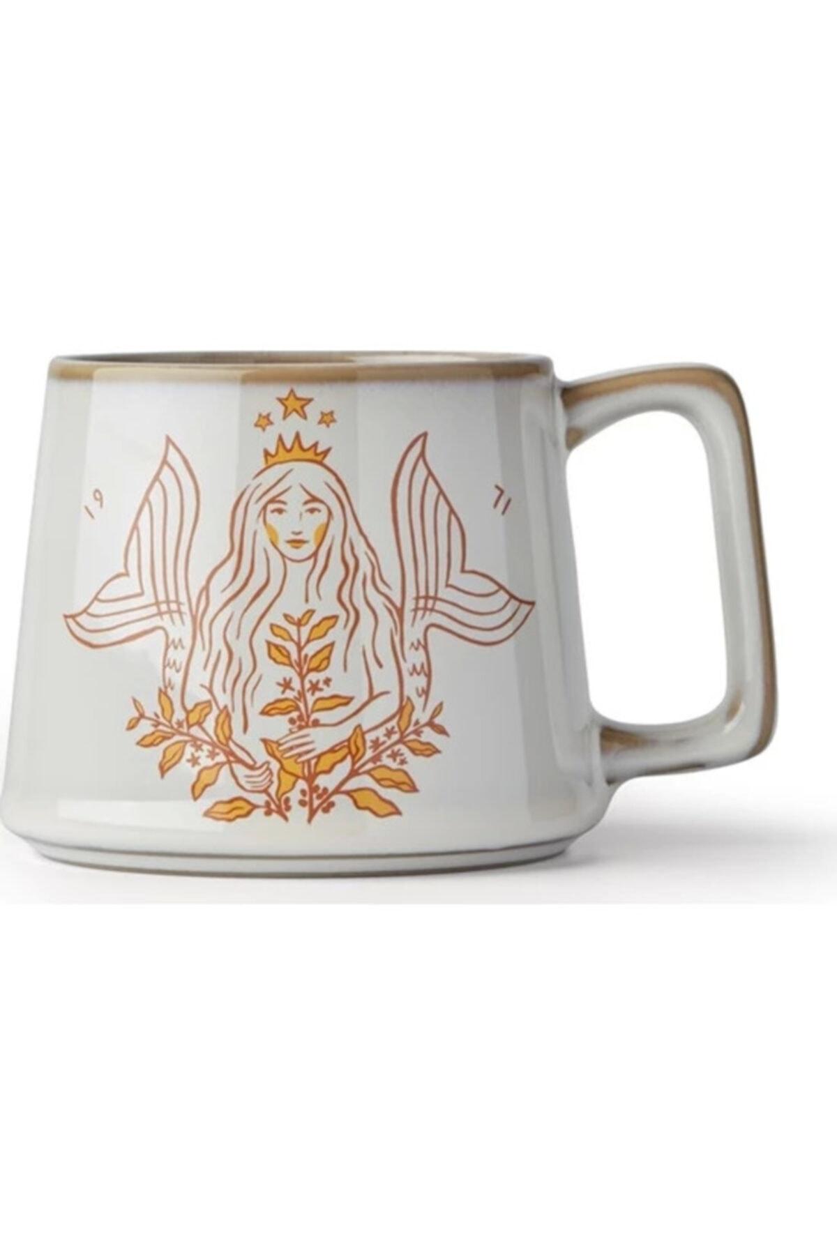 Starbucks ® 50. Yıl Özel Seri Beyaz Porselen Kupa 1