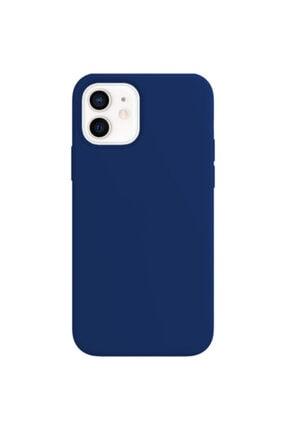 Buff Iphone 12 / 12 Pro Rubber S Mavi Kılıf