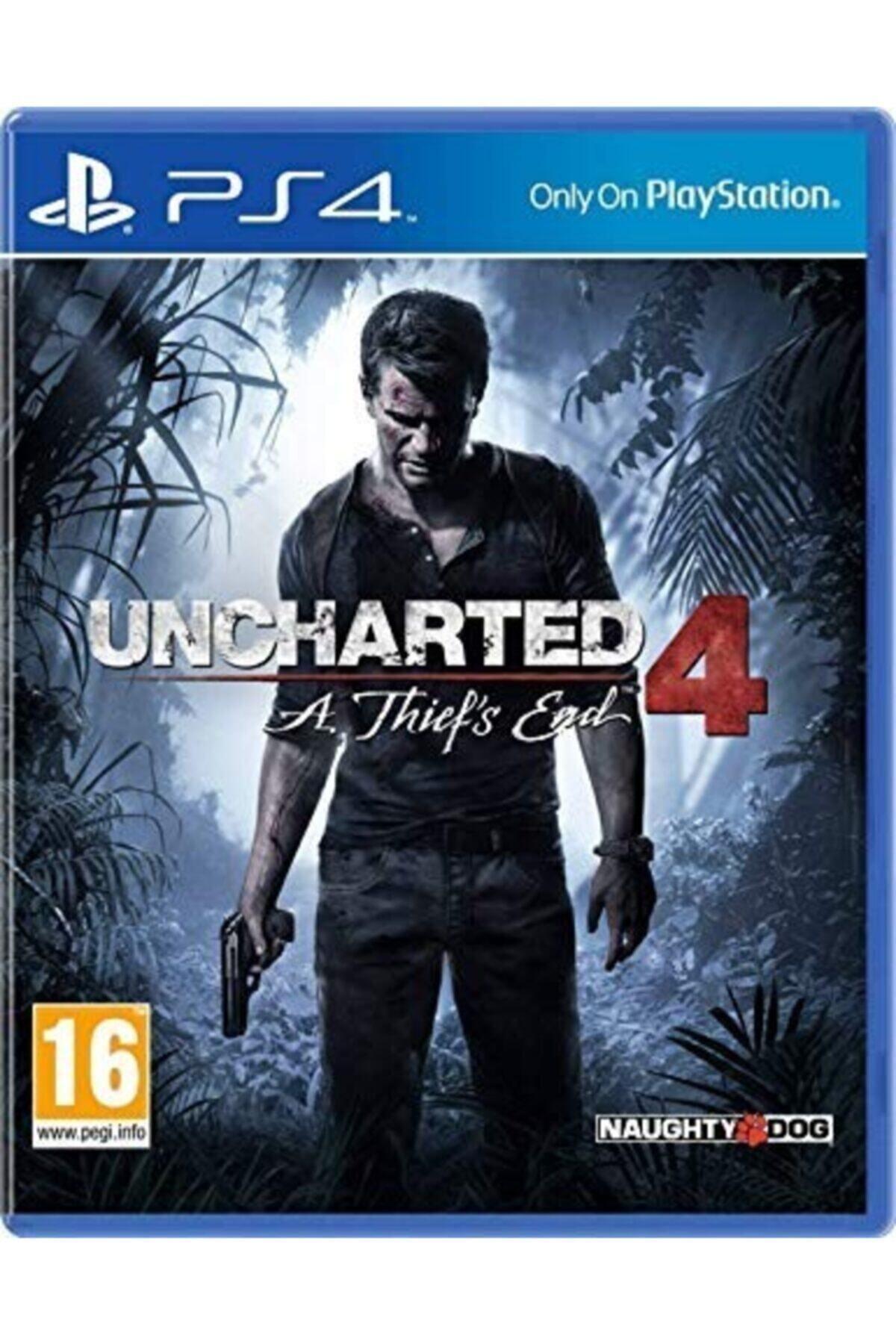 Naughty Dog Ps4 Uncharted 4- Orjinal Oyun - Sıfır Jelatin 1