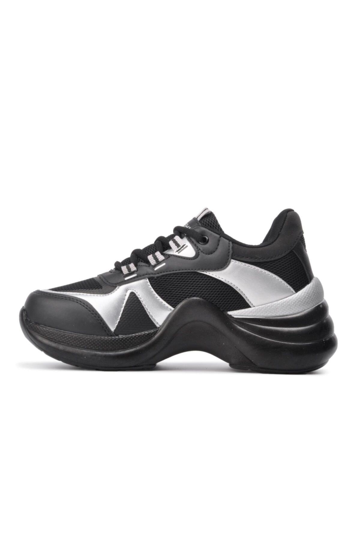 Twingo 601 Siyah-gümüş Kadın Spor Ayakkabı 2