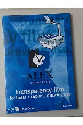 Alex Schoeller Şeffaf A4 Asetat Kağıdı 0.100mm 100 Lü