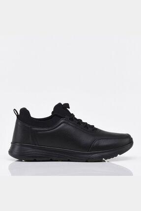 Hotiç Siyah Yaya Erkek Spor Ayakkabı