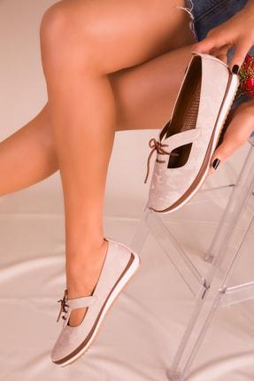 SOHO Bej Kadın Casual Ayakkabı 16101