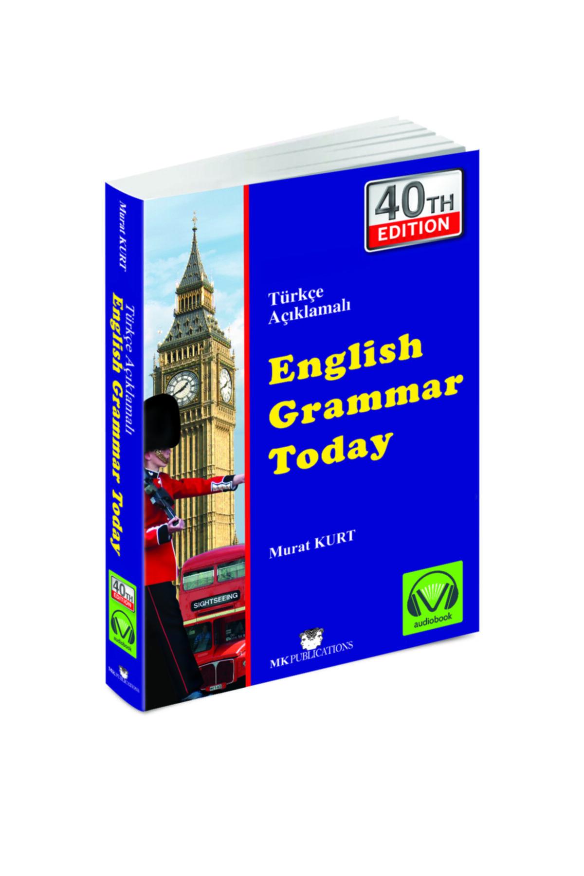 MK Publications English Grammar Today Murat Kurt 40. En Son Yeni Baskı 1