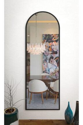 rivomo Siyah Dekoratif 150x50 Boy Aynası