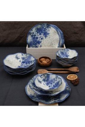 Güral Porselen 6 Kişilik Digibone 18 Parça Yemek Takımı