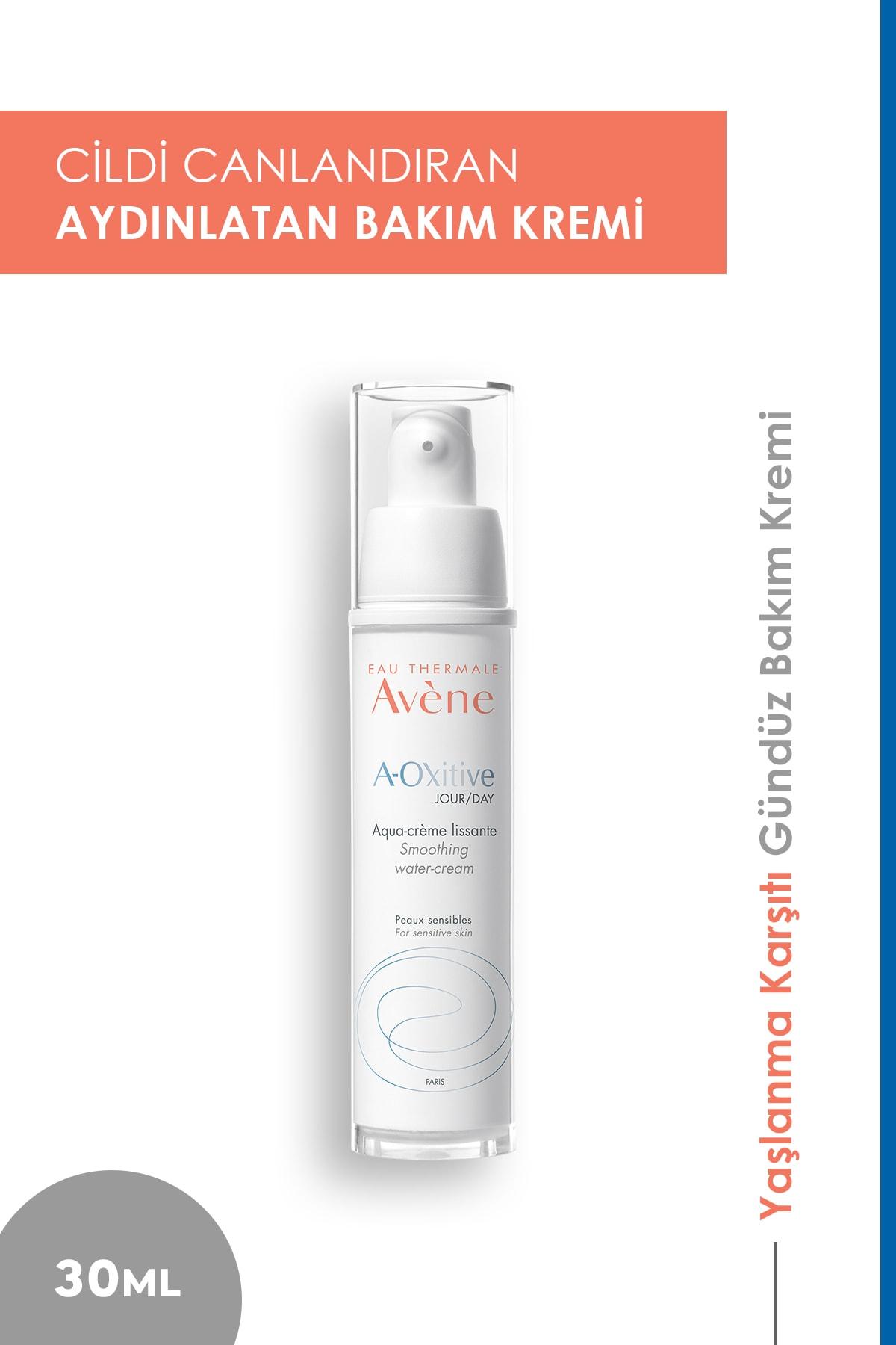 Avene A-oxitive Jour Water Cream 30ml| Yaşlanma Karşıtı Gündüz Bakım Kremi 1