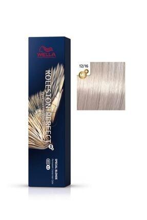 Wella Koleston Viyole Küllü Sarı Perfect Me Saç Boyası 12/16 60 ml