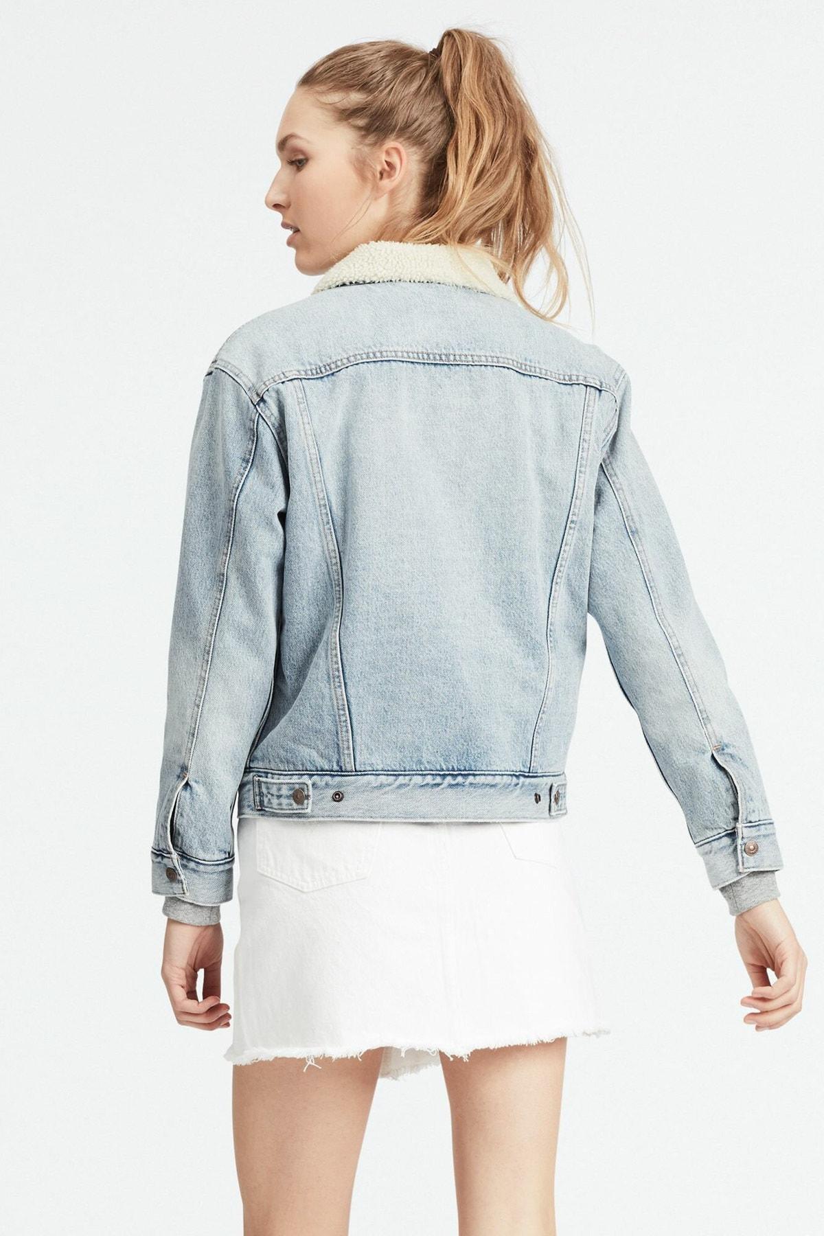 Levi's Kadın Mavi Jean Ceket 2