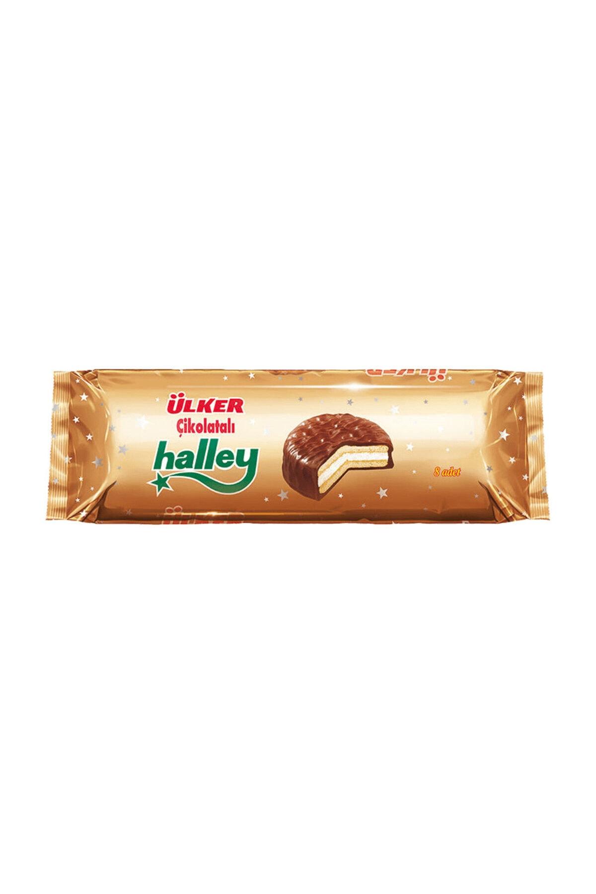 Ülker Halley Çikolatalı 8'li 30 gr 2