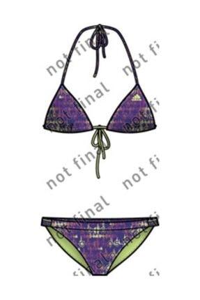 adidas Kadın Bikini Mor Bc Lin Tri Bik X30548