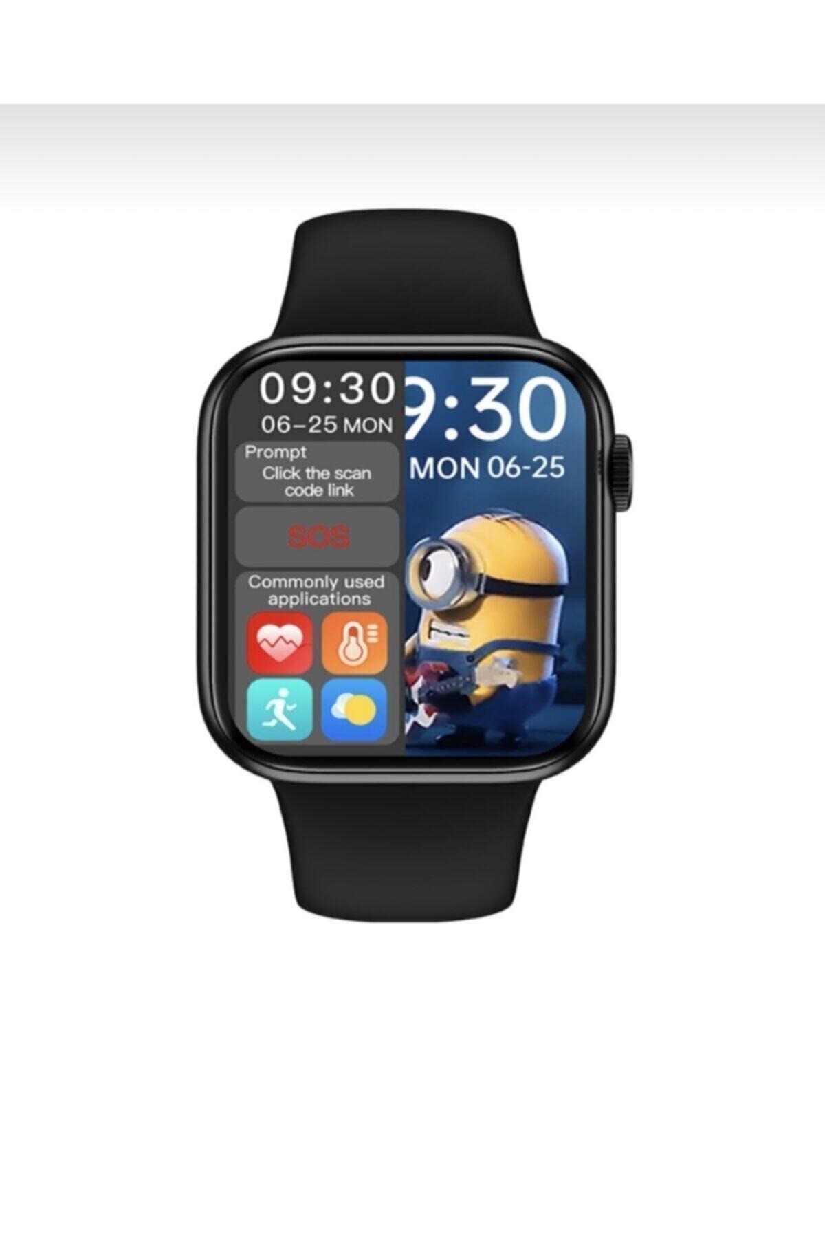 SmartWatch Hw16 Smart Watch 6 Akıllı Saat Tam Ekran 2' Ye Bölme Yan Tuş Aktif 44mm Arama Cevaplama 1