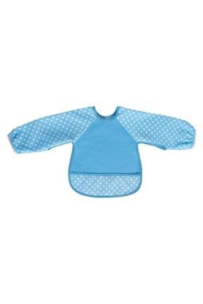 Sevi Bebe Eko Kollu Mama Önlüğü Art-54 Mavi