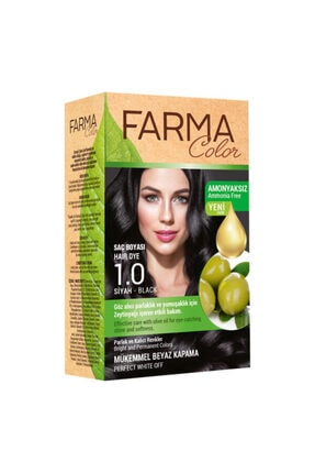 Farmasi Saç Boyası Siyah 1.0
