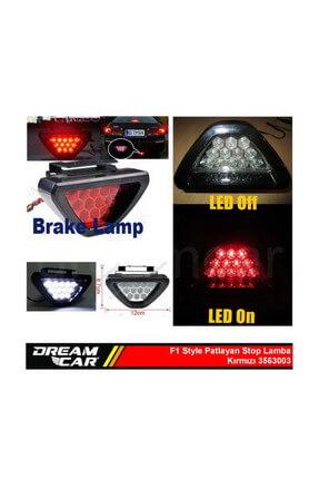 Dreamcar F1 Style Kırmızı Flash Patlayan Stop Lamba 12Led 3563003