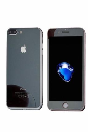 Bufalo iPhone 6 Plus Metal Kenarlı ÖN+ARKA Cam Ekran Koruyucu Siyah