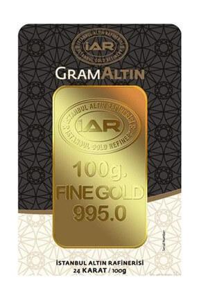 Harem Altın 100 gr IAR Gram Külçe Altın HRM3338