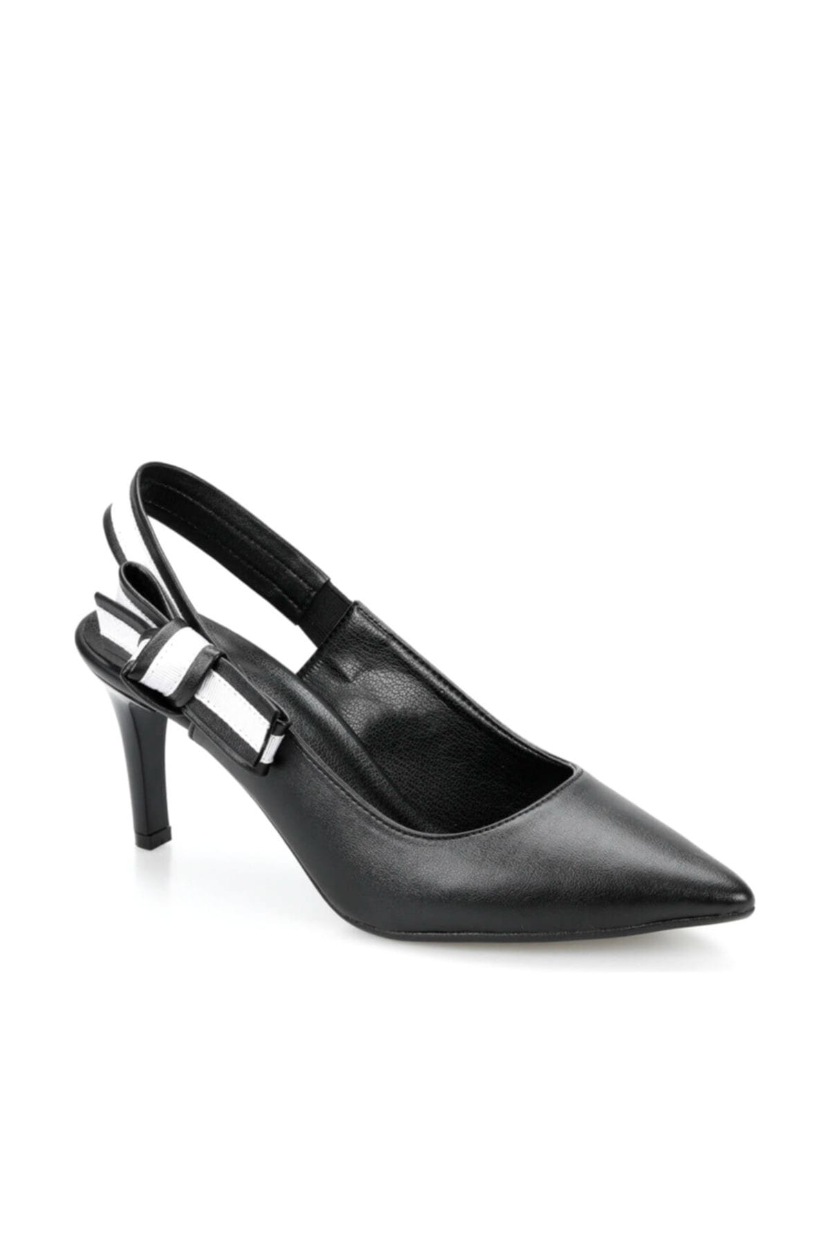 Miss F DS19074 Siyah Kadın Gova Ayakkabı 100382791 1