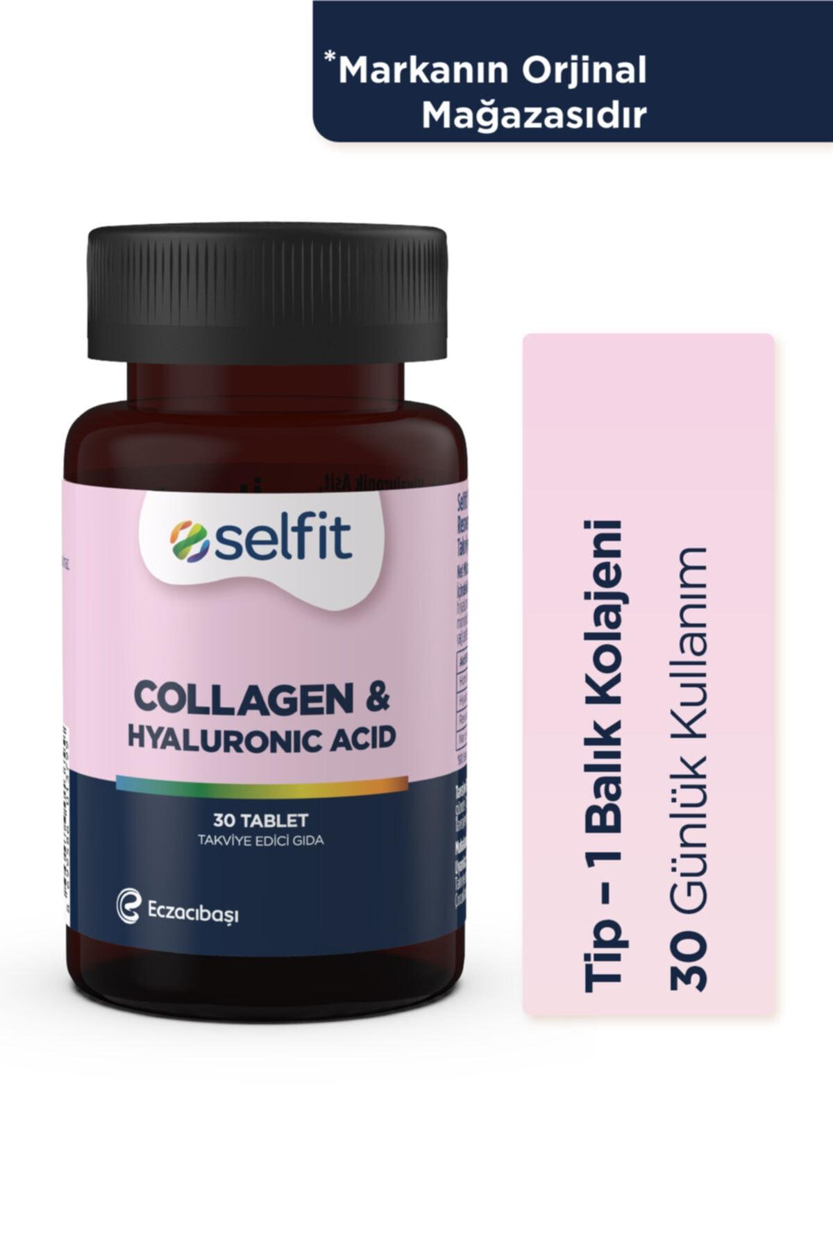 Eczacıbaşı Selfit Collagen & Hyaluronic Acid 30 Tablet -  Son Kullanma Tarihi: 02.2023 1