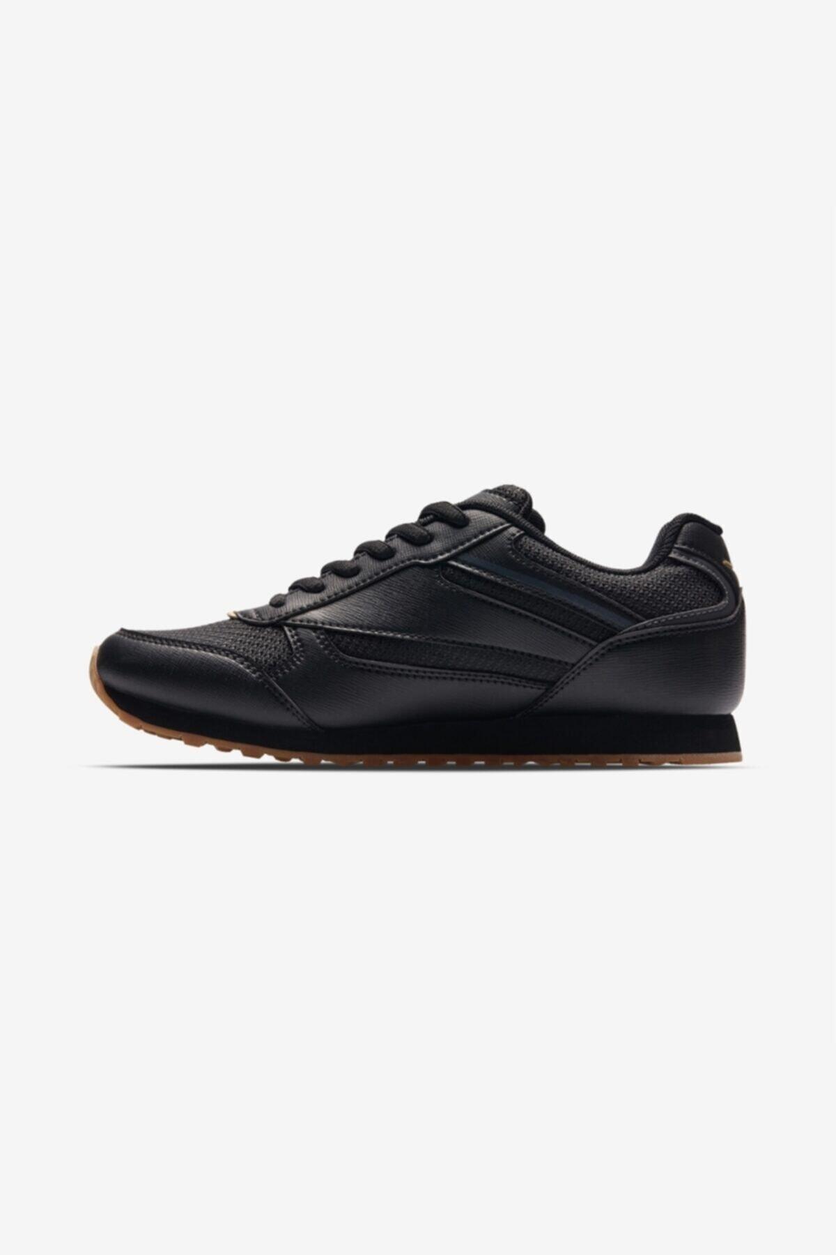 Lescon Kadın Siyah Sneaker Ayakkabı L-6618 2