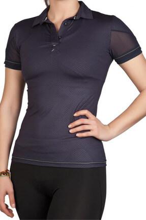 Exuma Kadın Lacivert Spor T-shirt - 172204